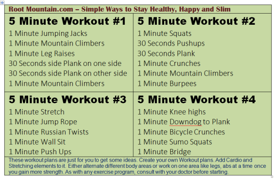 5-minute-workout-plans
