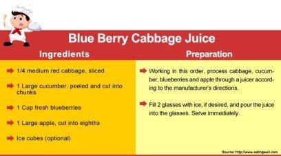 Blue-berry-cabbage-juice-recipe-preparation