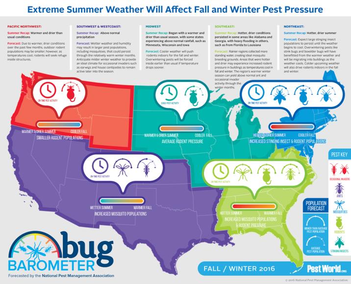 Fall 2016 Bug Barometer